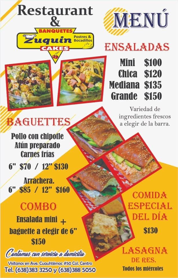 zuquin #localeats #consumelocal #takeout #delivery