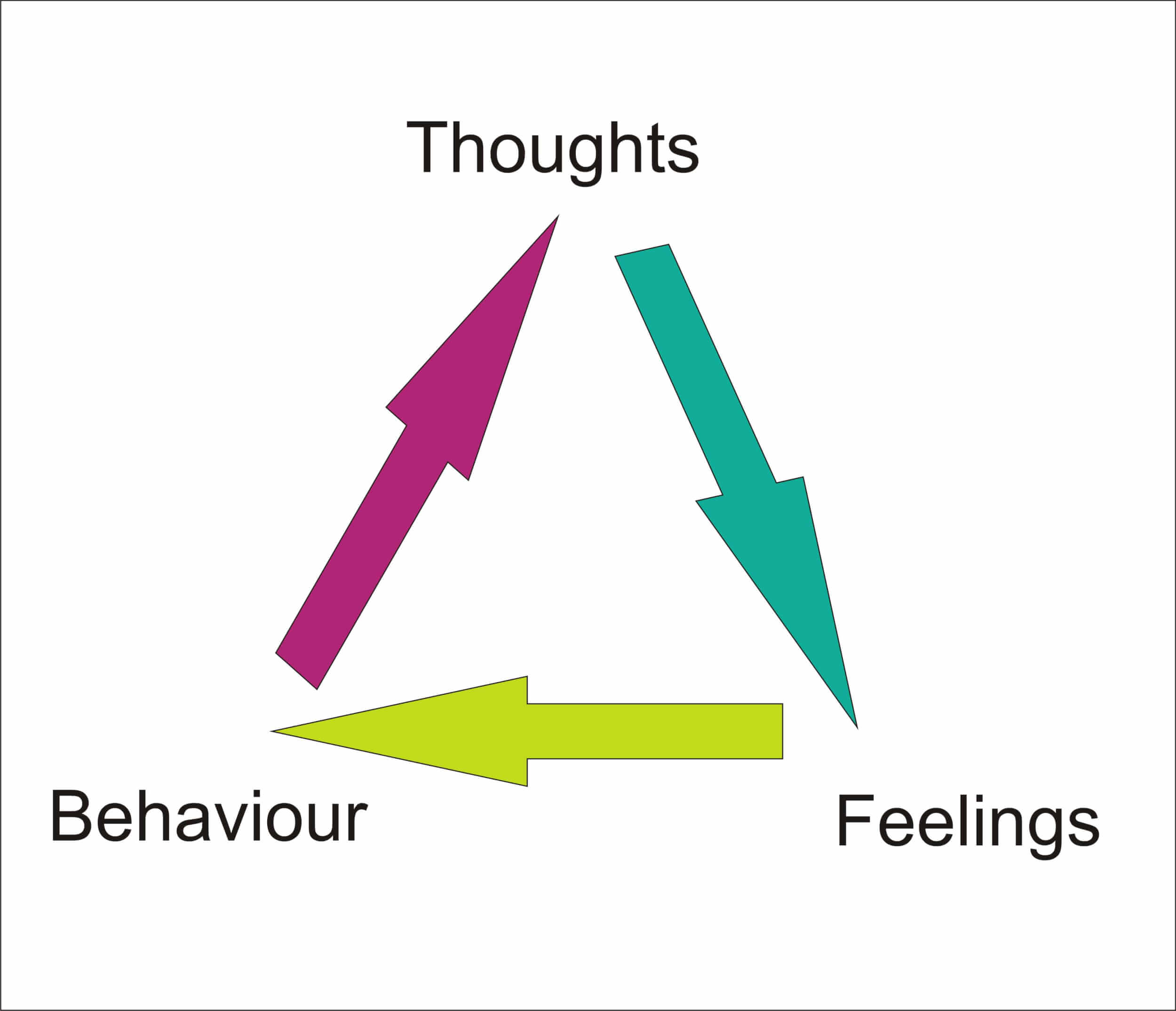 Thought Feeling Behaviour Cbt
