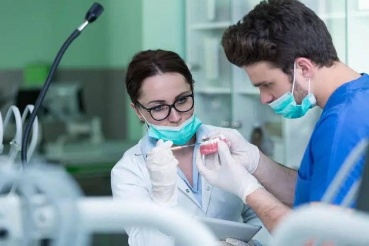 Denture and partial denture