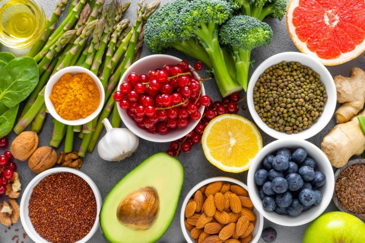 a healthy diet is important for good dental health