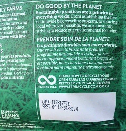 open farm lot code