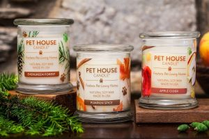 Pet House Candles Fall