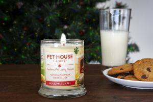 Pet House Candle Winter