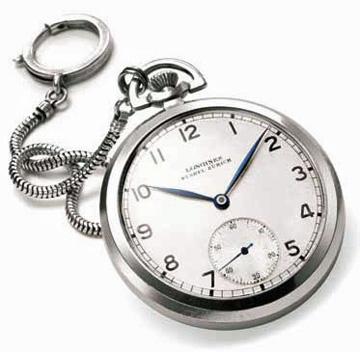 Albert Einstein's Longines watch.