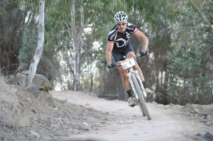 Grant Webster takes out the male elite seven-hour overall win at the SHIMANO MTB GP series. Photo: OuterImage.com.au