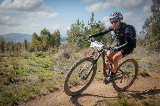 With a victory at Stromlo Wendy Stevenson secured herself the 4-hour elite women's title.