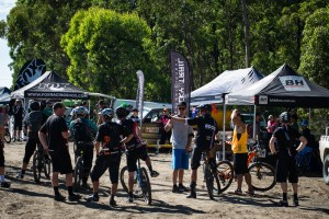 New naming rights sponsor Fox Shox Australia and major sponsor BH Bikes out in force!