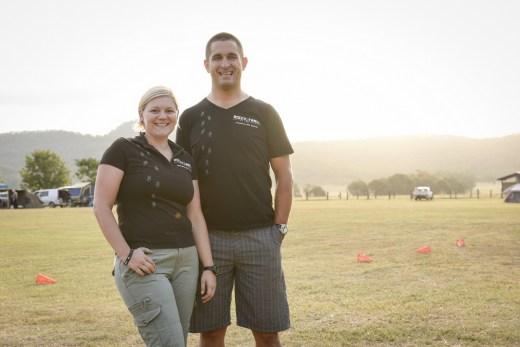 Juliane & Martin Wisata from Rocky Trail. Photo: Katharina Wisata