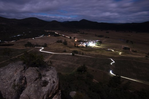 Night racing at James Estate - a unique experience. Photo: OuterImage.com.au