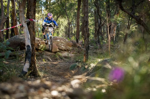 Kellie Weinert on track to win. Photo: OuterImage.com.au
