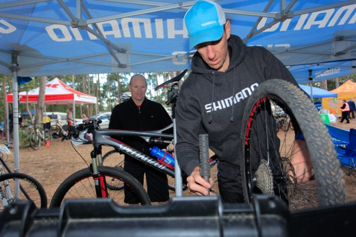 Rocky Trail's Shimano GP. Ourimbah, Australia