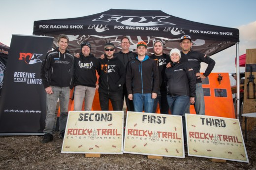 Thanks everyone, we had a blast bringing you this 2015 season of the Ride FOX- Australia Rollercoaster #Enduro Series, hydrated by CamelBak (l-r): Paul Walton Mondraker Australia, Paul Hillary Gloryfy Australia, the Ride FOX Australia crew with Gavin Wall, CEO George Nisbet, Simon Glanville, Matt from Le Spit Cyclery and Juliane Wisata and Martin Wisata from Rocky Trail Entertainment.