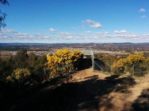 Stromlo bridge tunnel.