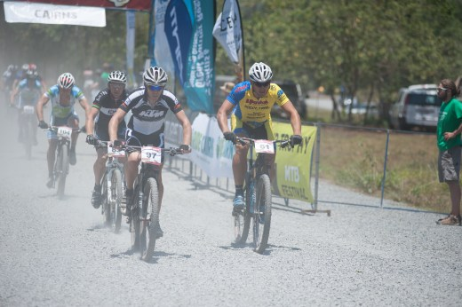 The big goal: crossing the finish line after nine days with a smile. Photo: Kenneth Lorentsen