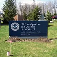 Buffalo Federal Detention Facility sign
