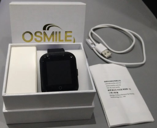 Osmile ED 1000 失智老人定位手錶- 配件內容