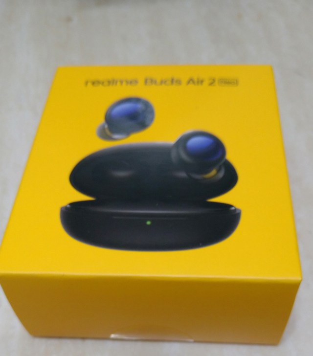 Realme Buds Air 2 Neo Reviw (unbox) in 5 minute,Best Value Wireless Active Noise Cancelling Bluetooth Headset . Package 1