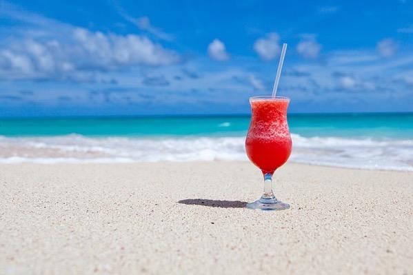 天国のようなビーチ