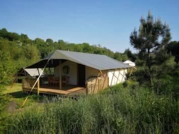 Safari Tent | Devon, Torbay, Glamping