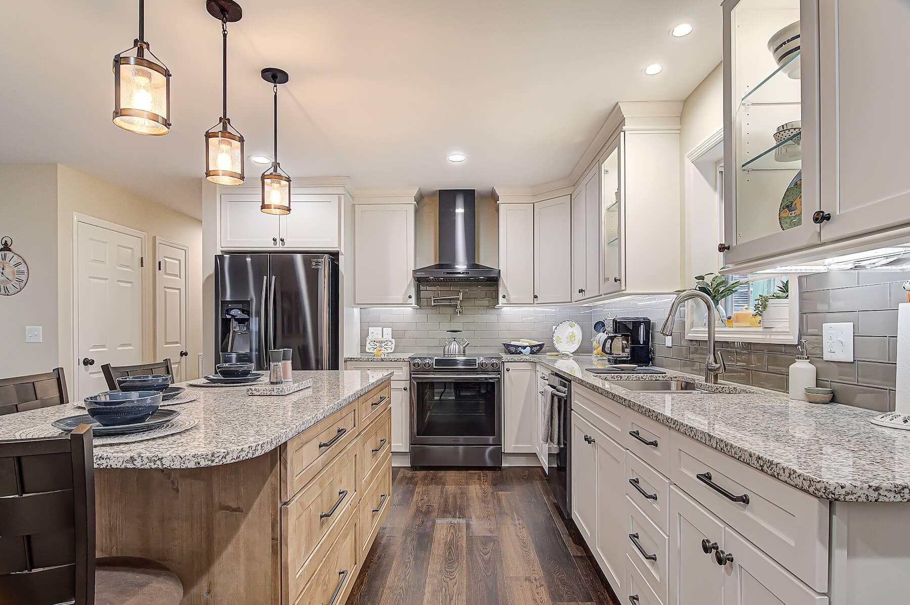 complete kitchen remodel kernersville