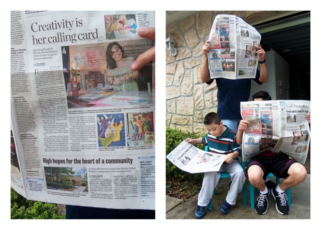Making news in the Tampa Bay Times