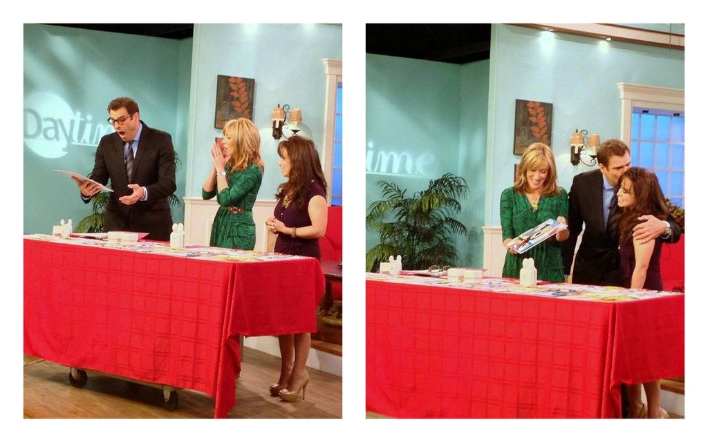 Daytime TV show with hosts Cyndi Edwards and Jerry Penacoli join in to support ROC Paper Scissors every year we were finalists.