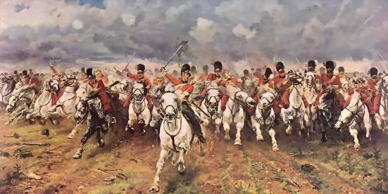cavalry Battle_of_Waterloo