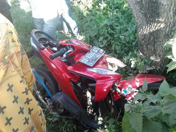 kecelakaan tanpa penunggang