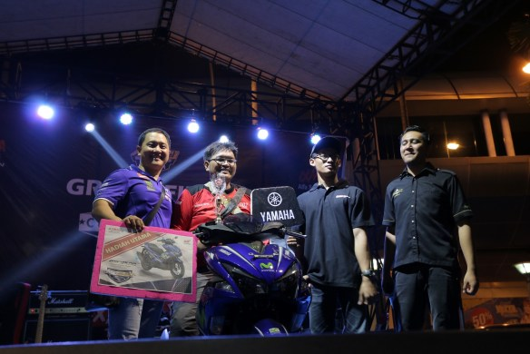 Dhimas Thuntry Sukma Putra (Kisaran) pemenang Best of The Best Nmax Regional Sumatera Utara