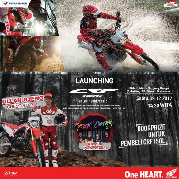 launching crf150