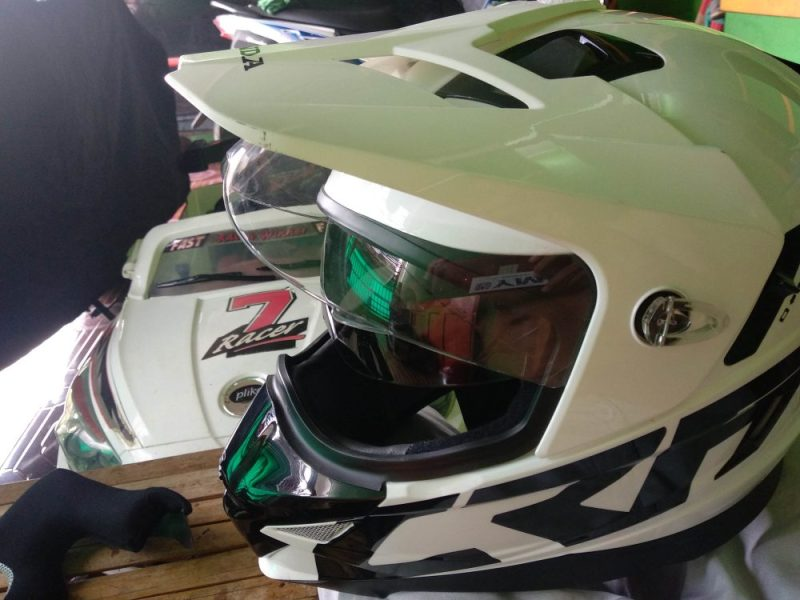 Perbaiki Double Visor Helm MDS Super Pro