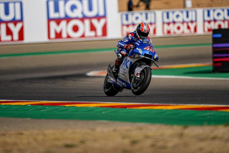 Suzuki Double Podium MotoGP Teruel