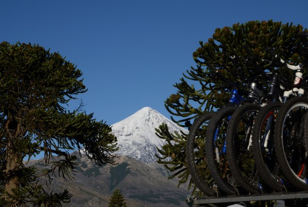 mountain bike-Cruce de los Andes