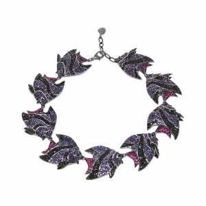 Necklace Fish Love Violet SCH 453-1