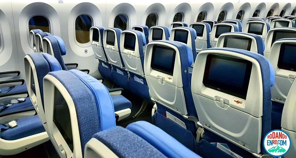 Air europa introduce su avi n m s moderno un boeing 787 for Interior 787 air europa