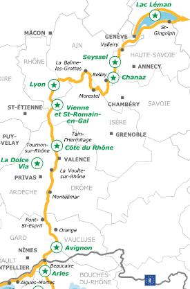 Mapa Eurovelo 17