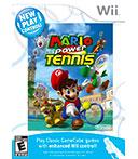 Mario Power Tennis - 1-2 jogadores