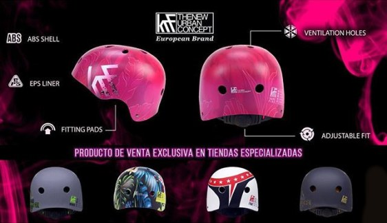 Cascos KRF Colección