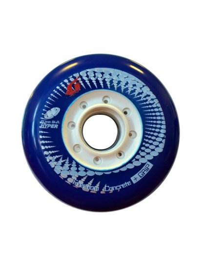 RUEDAS CONCRETE +G 80MM 84A (4 UNID) - Azul