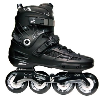 PATIN ANGEL 4X80 NEGRO