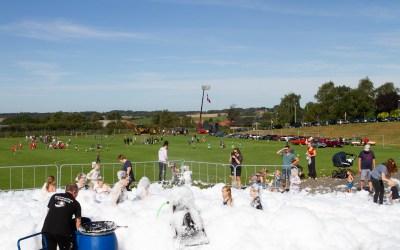 Billeder fra årets sommerfest i Rødding