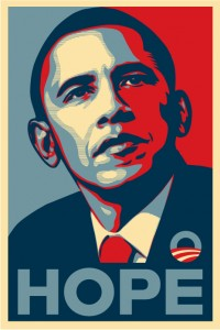 Barack Obama Hope and Change Poster