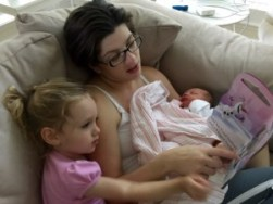 Elizabeth, Annabelle & Beatrice: 1st Week