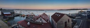 View from the Financial District, Castine, Maine, US
