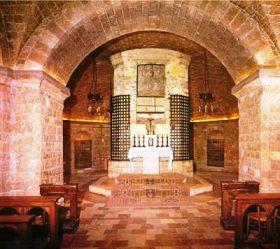 Assisi 10 (benedenkerk van de basiliek)