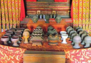 Confuciustempel 04 (heilige voorwerpen uit de Dacheng-Hal)