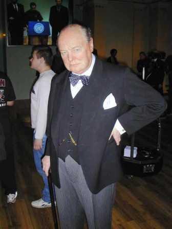 Mme Tussaud 12 (Winston Churchill)