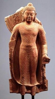 Staande Boeddha - India - 430