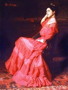 Thomas P. Anshutz - Een roos - 1907
