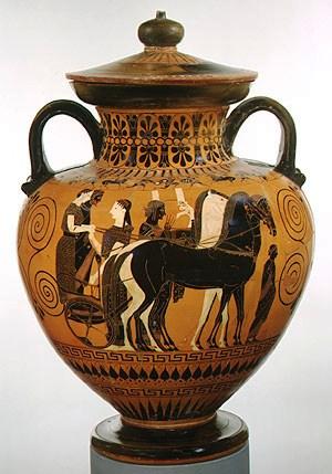 Vaas voor olie - 540 v.C.